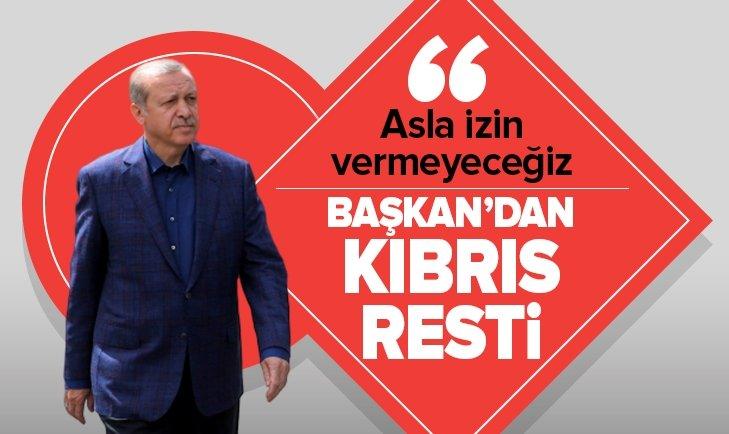 Başkan Erdoğan'dan KKTC'nin 36. kuruluş yılı mesajı