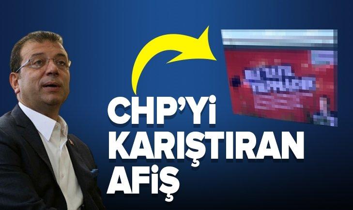 CHP'Yİ KARIŞTIRAN 'TATİL YAPMADIK' AFİŞİ