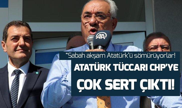 Önder Aksakal: Sabah akşam Atatürkü sömüren tipler var