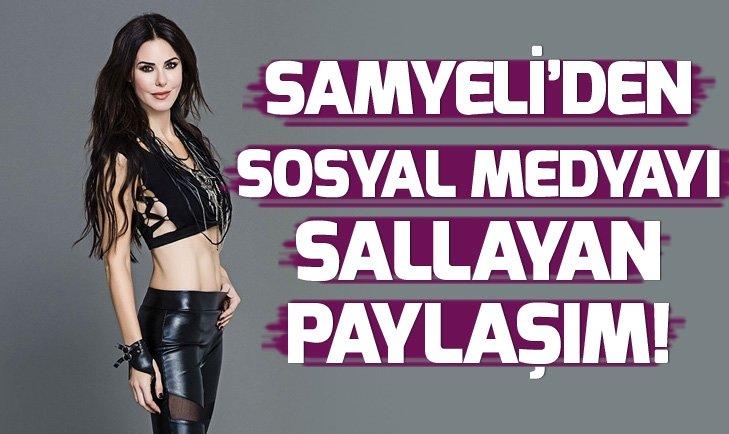 DEFNE SAMYELİ'DEN OLAY PAYLAŞIM! SOSYAL MEDYAYI SALLADI