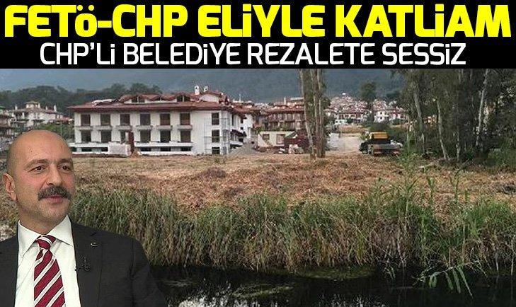 Doğa harikası Kadın Azmağı CHP-FETÖ eliyle katlediliyor iddiası