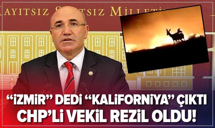 CHP'Lİ MAHMUT TANAL'IN YALANI ELİNDE PATLADI! 'İZMİR' DEDİ, 'KALİFORNİYA' ÇIKTI