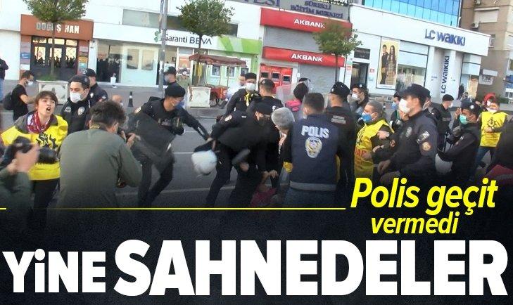 Son dakika | 1 Mayıs provokatörleri yine sahnede! Polis geçit vermedi