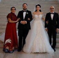 Mazhar Alanson'un en mutlu günü! Oğlu Hilmi Alanson evlendi