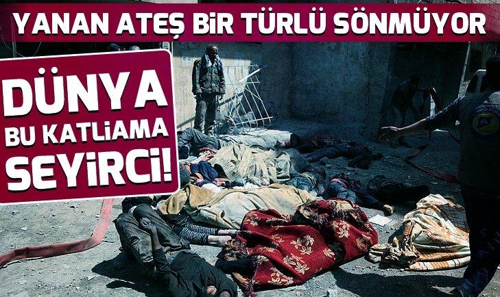 Suriye'de katliamın adı: Beşar Esad!