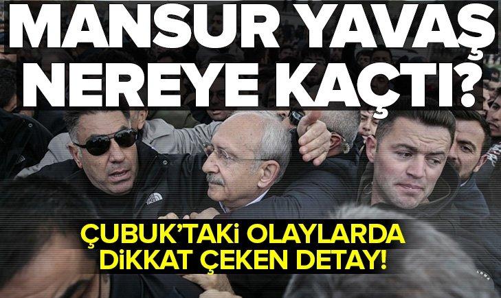 Kemal Kılıçdaroğlu'na saldırı esnasında Mansur Yavaş neredeydi?