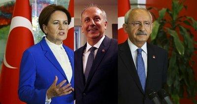 CHP ve İYİ Parti'den 10 vekil Muharrem İnce ile hareket edecek! Tasfiye edilenler işaret bekliyor