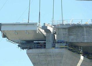 1915 Çanakkale Köprüsü'nde bir ilk! Heyecan dorukta! Tam 700 ton ağırlığında