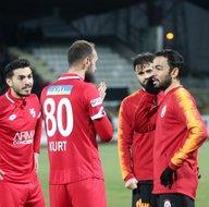 Boluspor - Galatasaray maçından kareler