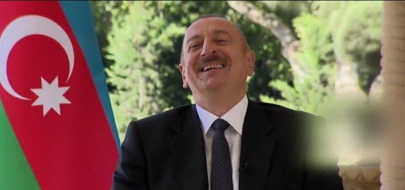Gündeme bomba gibi düşen yanıt! Fransız gazetecinin SİHA sorusu Aliyev'i güldürdü