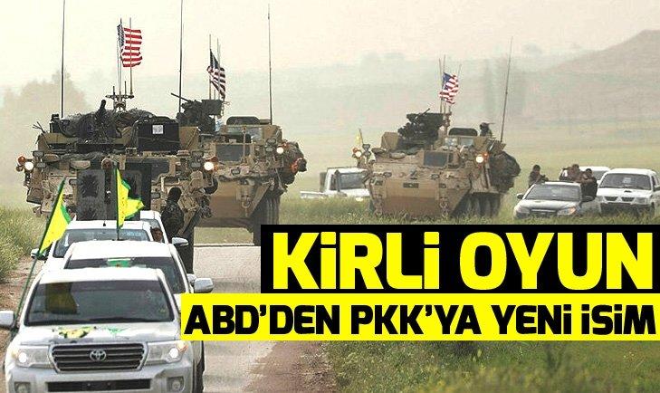 ABD'DEN PKK'YA YENİ İSİM!