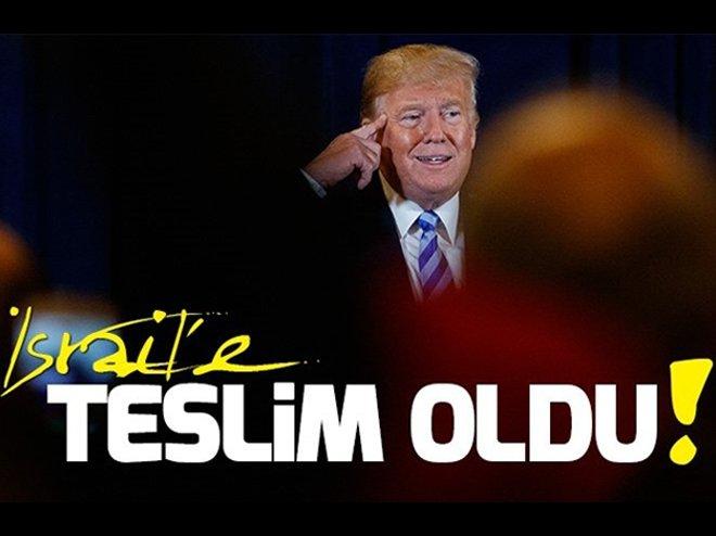 ABD'nin Ortadoğu politikası İsrail'e teslim