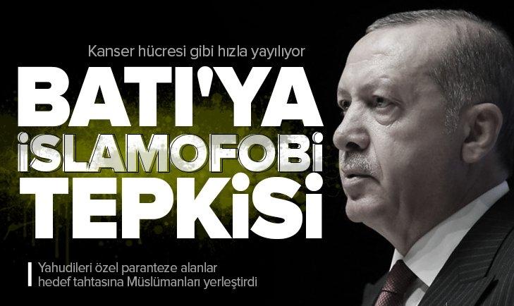 Son dakika: Başkan Erdoğan'dan Medya ve İslamofobi Sempozyumu'nda önemli açıklamalar