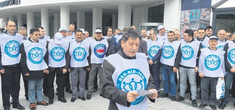 CHP'Lİ BELEDİYELERDE İŞÇİ KIYIMI BAŞLADI