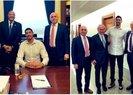 FETÖ'cü hainler Mevlüt Hilmi Çınar ve Enes Kanter ABD Kongresinde 'senatörleri' ziyaret etti!