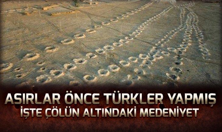 2 bin 200 yıl önce Türkler yaptı!