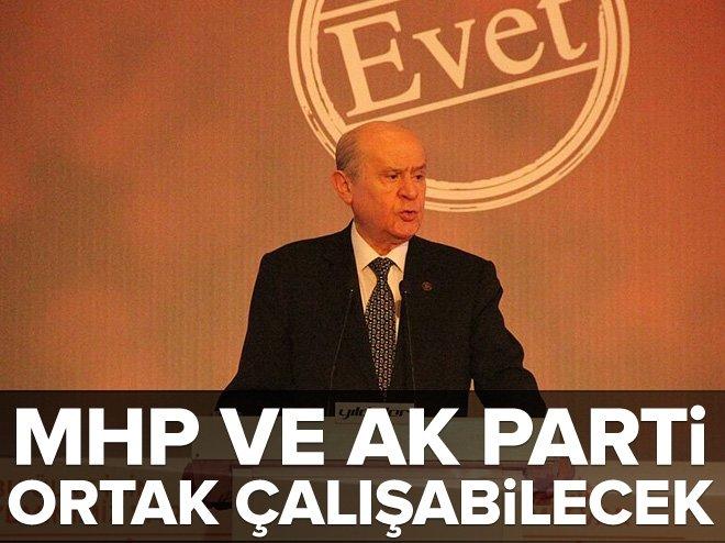 MHP'DEN REFERANDUM GENELGESİ