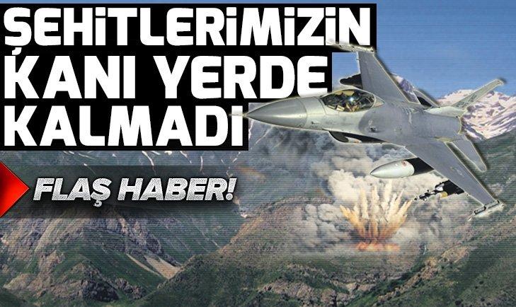 Şehitlerimizin kanı yerde kalmadı! Terör örgütü PKK'ya darbe üstüne darbe