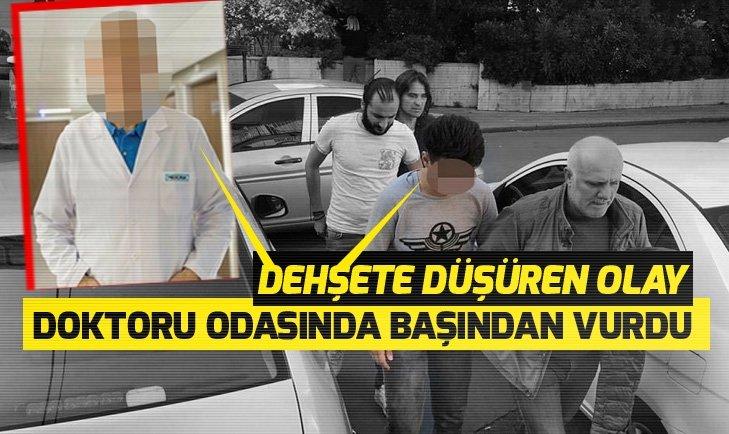 İSTANBUL'DA HASTANEDE DOKTORA SİLAHLI SALDIRI
