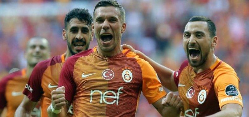 G.SARAY PODOLSKİ'Yİ SATTI! İŞTE FİYATI