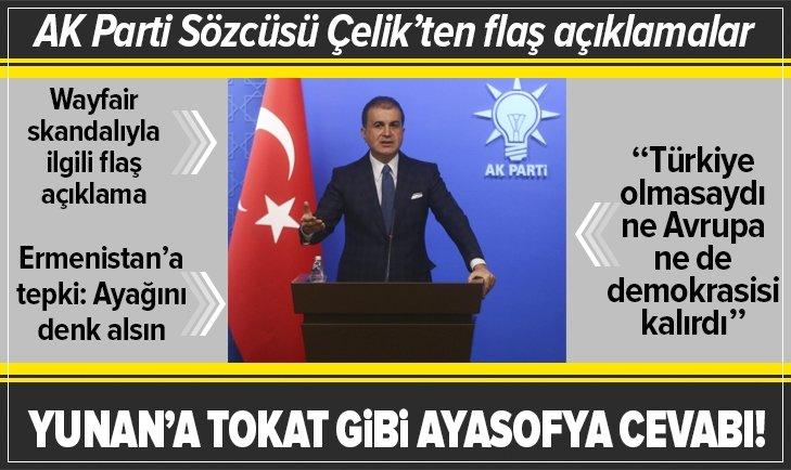AK Parti MKYK ve MYK toplantılarıyla ilgili Ömer Çelik'ten flaş açıklamalar