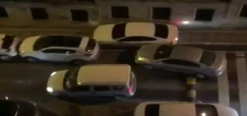 HIRSIZ-POLİS KOVALAMACASI KAMERALARDA