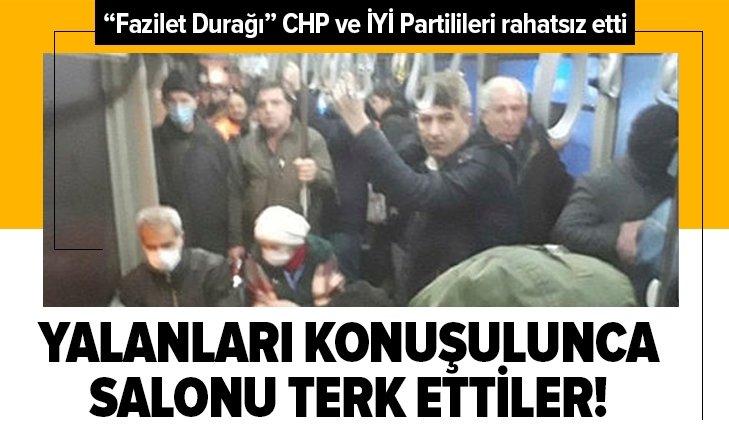 CHP ve İYİ Partililer İBB Meclisi'ni terk etti!