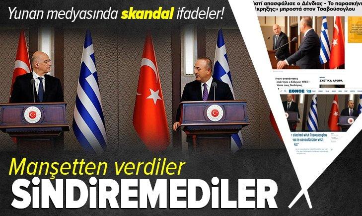 Manşetten verdiler! Yunan medyasında skandal ifadeler