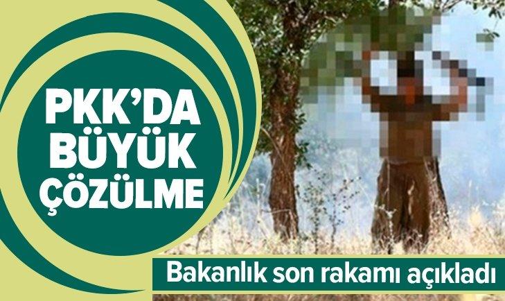 TERÖR ÖRGÜTÜ PKK'DA BÜYÜK ÇÖZÜLME