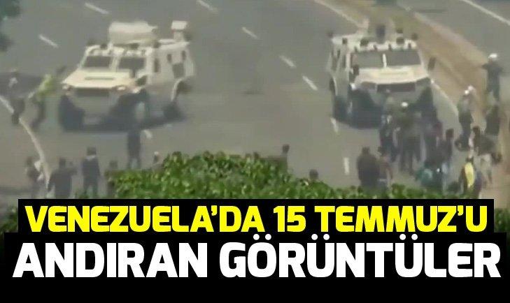 Venezuela'da darbeciler halkı ezdi