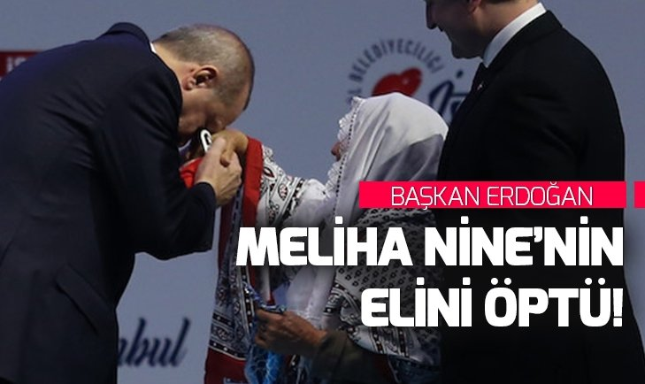 Meliha Nine ile Başkan Erdoğan buluştu