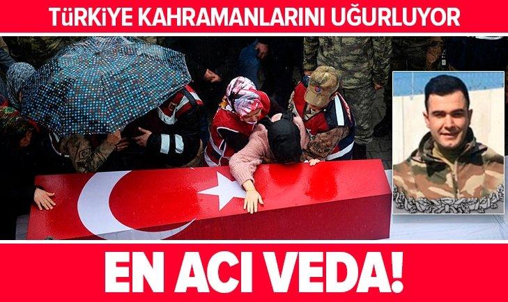 ŞEHİT ONBAŞI EMİN YILDIRIM'A VEDA!