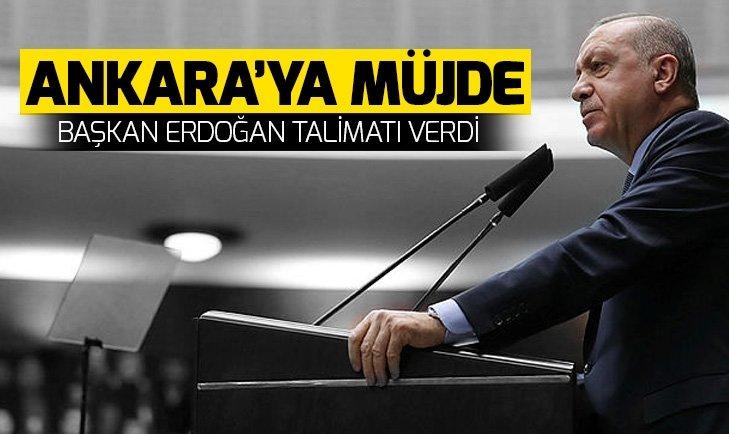 Başkan Erdoğan talimatı verdi! Ankaragücü'ne stat müjdesi