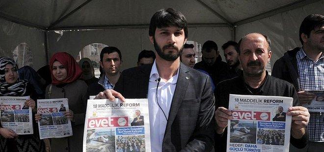 AK PARTİ'DEN KILIÇDAROĞLU'NA 'EVET' GAZETESİ