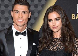 Cristiano Ronaldo Irina Shayk aşkı sözleşmeli çıktı!
