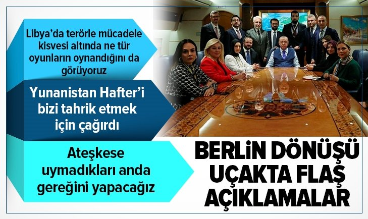 BAŞKAN ERDOĞAN'DAN ÖNEMLİ AÇIKLAMALAR!