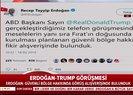 Son dakika... Trump ile görüşme sonrası Erdoğan'dan ilk açıklama |Video