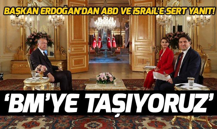 Başkan Erdoğan'dan flaş Golan Tepeleri açıklaması