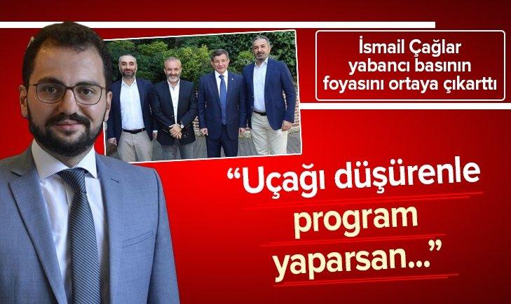 SETA Direktörü Çağlar gazetecilerin kovulmasına açıklık getirdi