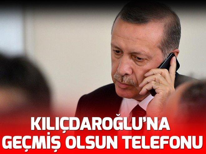 CUMHURBAŞKANI ERDOĞAN'NDAN KILIÇDAROĞLU'NA TELEFON