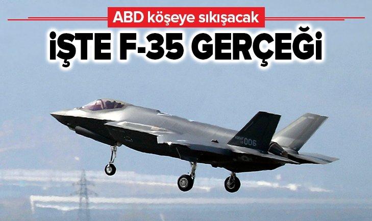 ABD KÖŞEYE SIKIŞACAK! İŞTE F-35 GERÇEĞİ