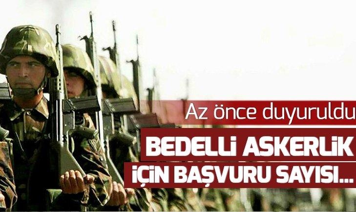 BEDELLİ ASKERLİĞE BAŞVURU YARIM MİLYON!