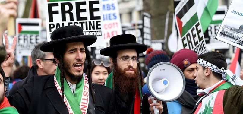 LONDRA'DA NETANYAHU PROTESTOSU