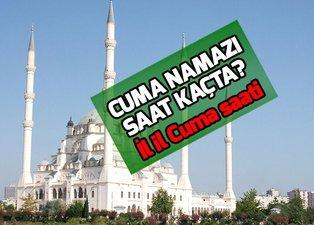Cuma namazı saat kaçta? İstanbul, Ankara, İzmir, Bursa, Trabzon, Antalya cuma vakti! İl il cuma saati 22 Mart