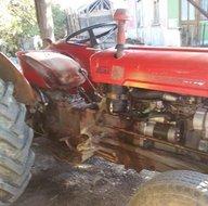 Dedesinin kullandığı 1964 model traktörü bulup 100 bin TL harcadı! Trafik polisleri bile şaşırdı