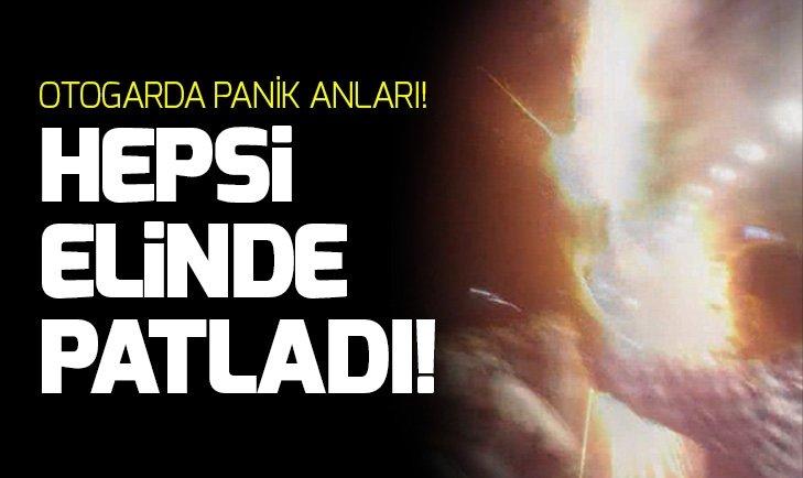 İSTANBUL'DA OTOGARDA DEHŞET! HEPSİ ELİNDE PATLADI