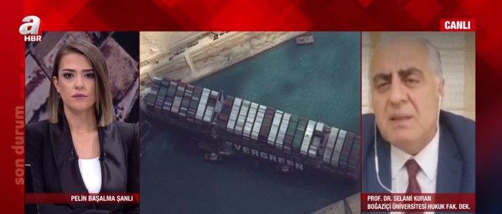 Son dakika: Süveyş Kanalı'nda suçlu kim? Milyarlarca dolarlık zararı kim ödeyecek? Uzman isim A Haber'de anlattı
