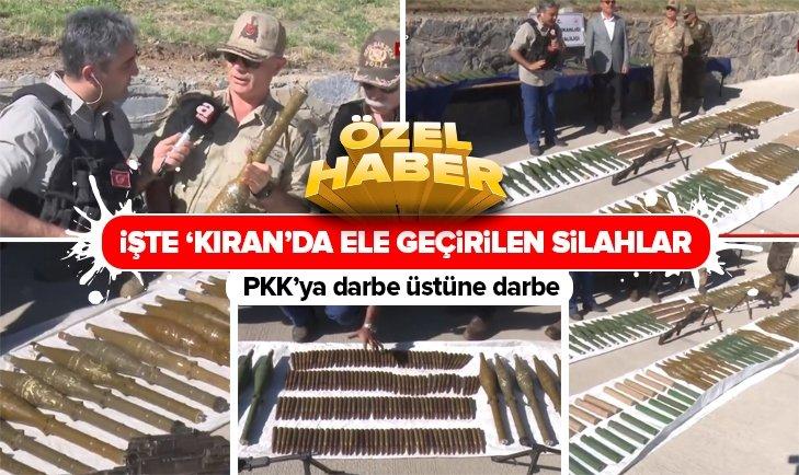 KIRAN OPERASYONUNDA ELE GEÇİRİLDİ!