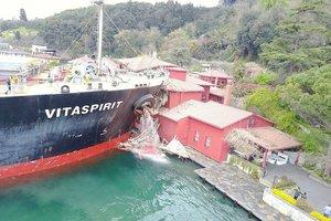 Hekimbaşı Salih Efendi Yalısı'na çarpan geminin kaptanı kazayı anlattı!