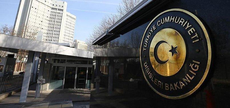 DIŞİŞLERİ BAKANLIĞI'NDAN ÇİPRAS'A SERT TEPKİ